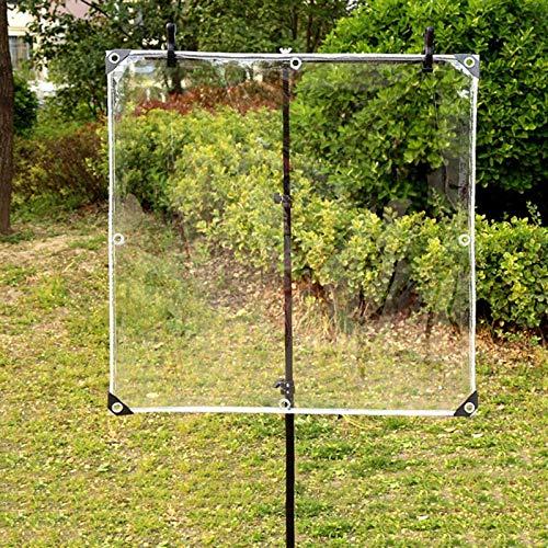 Jonist Lona Impermeable Multiusos Transparente - Paño Aislante de plástico para Interiores y Exteriores para suculentas/Ventanas/Veranda, Varios tamaños