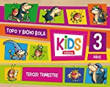 KIDS EDEBE 3 AÑOS TERCER TRIMESTRE - 9788468309767