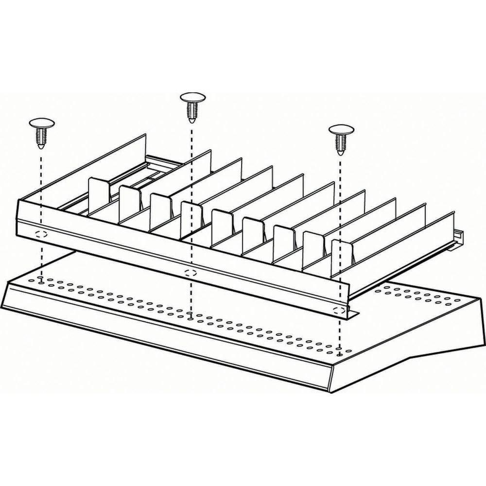 FFR Merchandising Clear Plastic Shelf Facing trend rank System 16