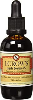 J.CROW'S® Lugol's Solution of Iodine 2% 2oz