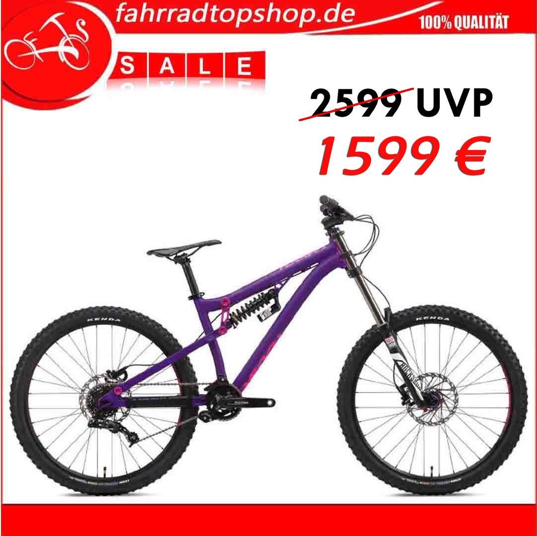 NS Bikes Soda Evo Coil Entry Level DH/Bike Park 27,5 Purple 8 SPD ...