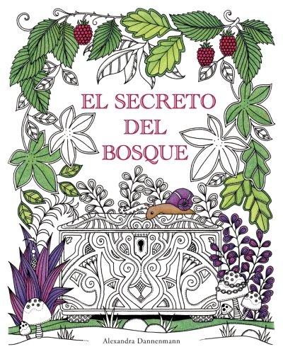 El Secreto del Bosque: Encuentra las joyas escondidas. Un libro para colorear para adultos