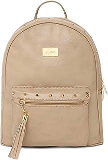 KLEIO Designer Women Backpack Hand Bag For College Girls and Work Ladies