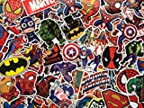 SBS Pegatinas de superhéroes, Marvel, DC Comics, X-Men, Batman, Spiderman, Superman, Avengers, Liga...