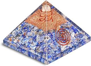 PREK Lapis Lazuli orgone pyramidenergy Generator emf Protection Chakra Balancing 2-2.5 inch