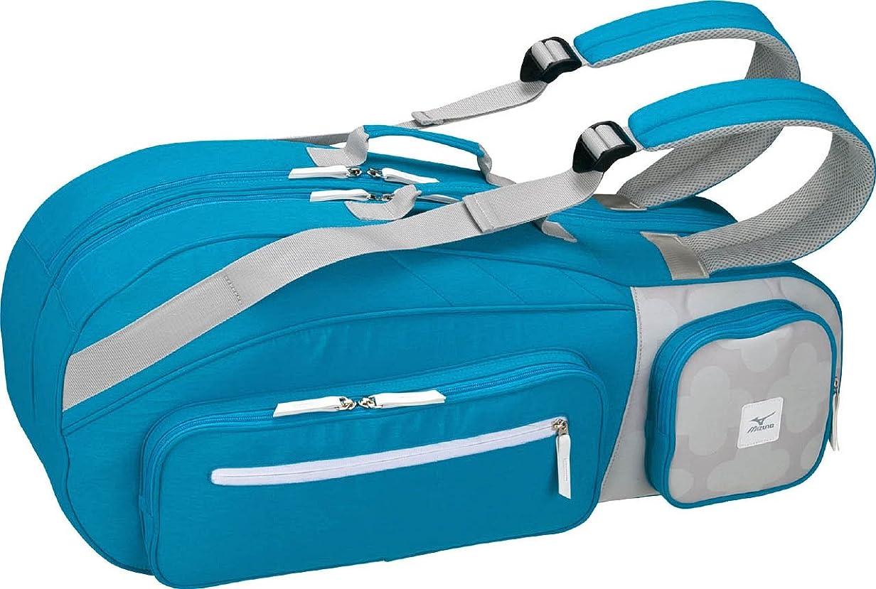 修復遊び場料理MIZUNO(ミズノ) テニスバッグ ラケットバッグ 6本入れ 63JD6501