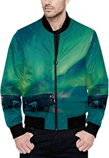 Hitecera 90s Funny Bomber Jacket for Boy XS
