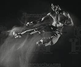 karate action photo