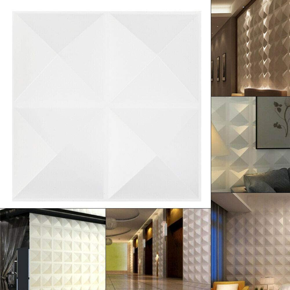 Futchoy Decorative Fixed price for sale 3D Wall Panels Latest item 12pcs Tex Waterproof 11.8inch