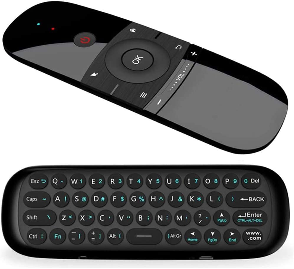 Air Remote,WeChip 2.4G Wireless Keyboard W1 Remote Control for Android TV Box/PC/Projector/HTPC/All-in-one PC and More