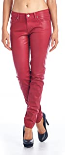 denim couture red