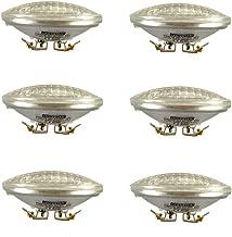 Vstar LED PAR36 9W 12V Warm White,Multi-Purpose Base,Landscape Lighting(Pack of 6)