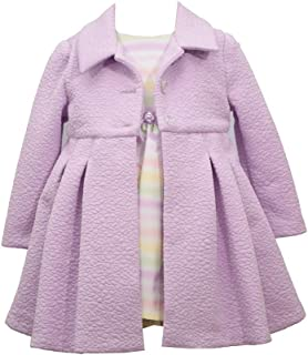 Girl's Easter Dress and Coat Set - for Baby, Infant, Toddler and Little Girls