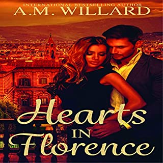 Hearts in Florence audiobook cover art
