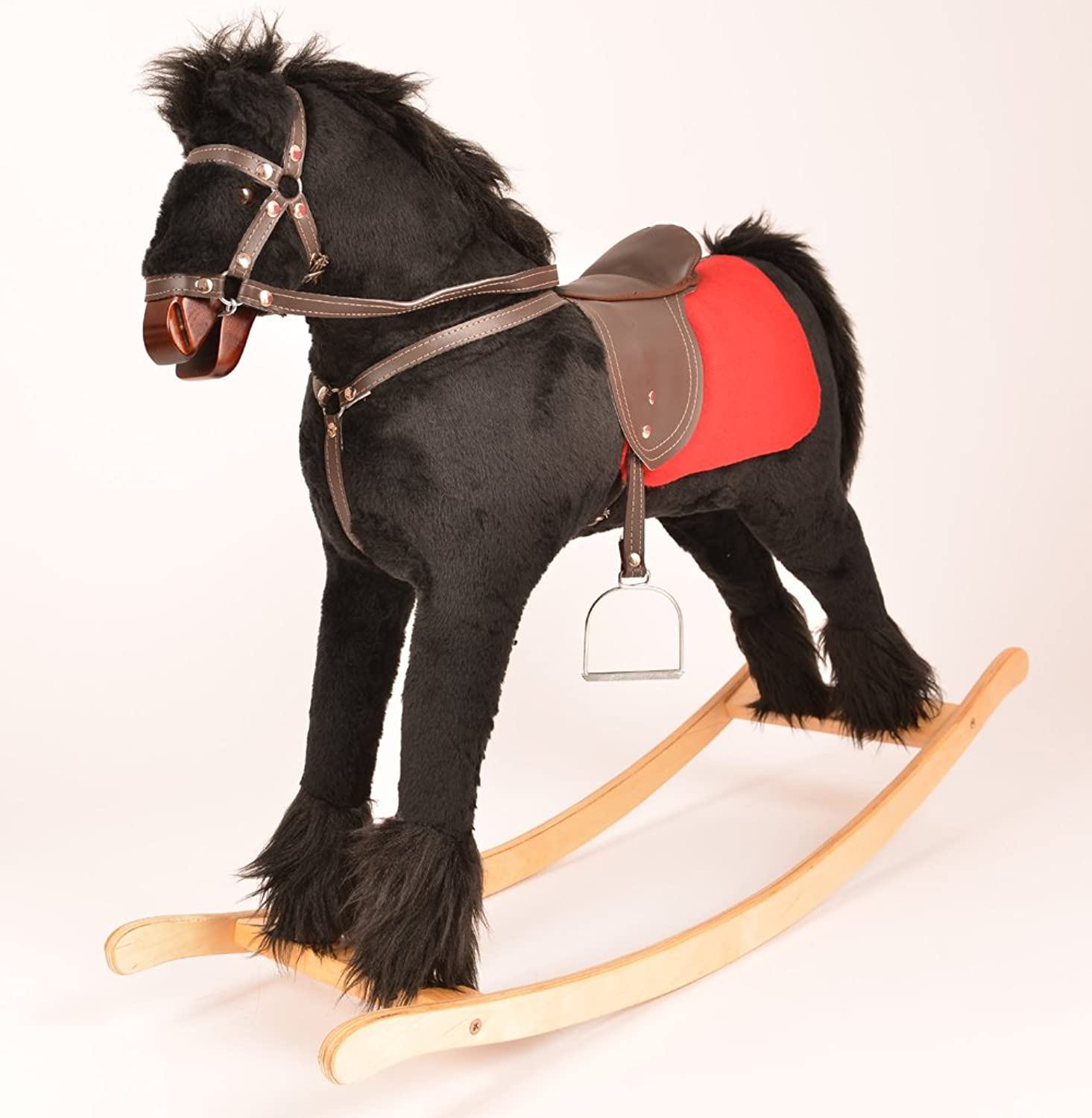 ALANEL BLACKY Handmade Medium Rocking Horse MADE IN EUROPE