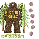 Bigfoot Ballz Sour Candy - MADE IN THE USA - Gag Gifts - Funny Father's Day Gift