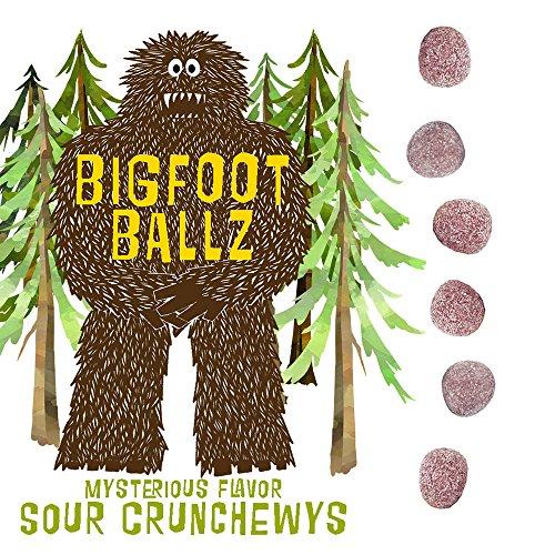 Bigfoot Ballz Sour Candy Crunchewys