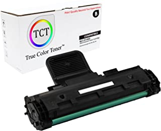 TCT Premium Compatible Toner Cartridge Replacement for Samsung MLT-D108S Black Works with Samsung ML-1640 1641 2240 2241 Printers (1,500 Pages)