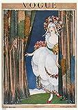 onthewall Vintage Vogue kann 1919Poster Kunstdruck