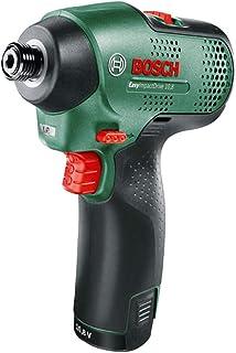 ボッシュ(BOSCH) 10.8V コードレスインパクトドライバー (2.0Ahバッテリー1個・充電器・キャリングケース付) IPD1108