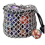 YOUSHARES Drawstring Game Dice Bag -...
