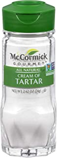 McCormick Gourmet All Natural Cream of Tartar Non GMO (2.62 Ounce Pack of 2)