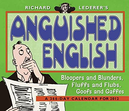 Anguished English 2012 Calendar