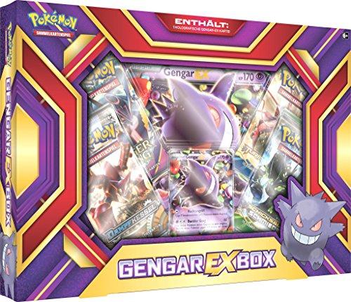 Pokemon 25941 Gengar-EX-Box Sammelkarten