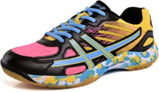 Unisex Volleyball Badminton Shoes Men Women Training Sneaker Lightweight Table Tennis Shoes for Indoor Court Running