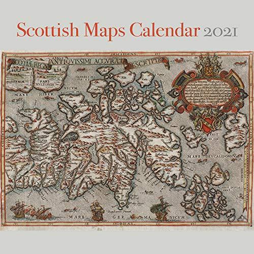 Scottish Maps Calendar 2021
