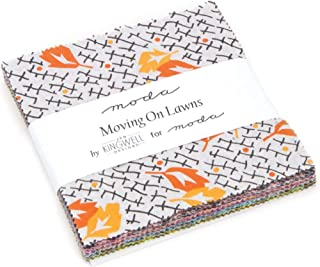 Moving On Lawns Charm Pack By Jen Kingwell; 42-5