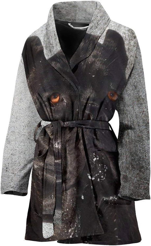 Deruj Cane Corso Print Women's Bath Robe