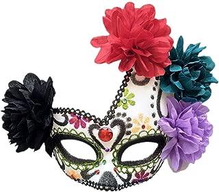 Best sugar skull half face mask Reviews