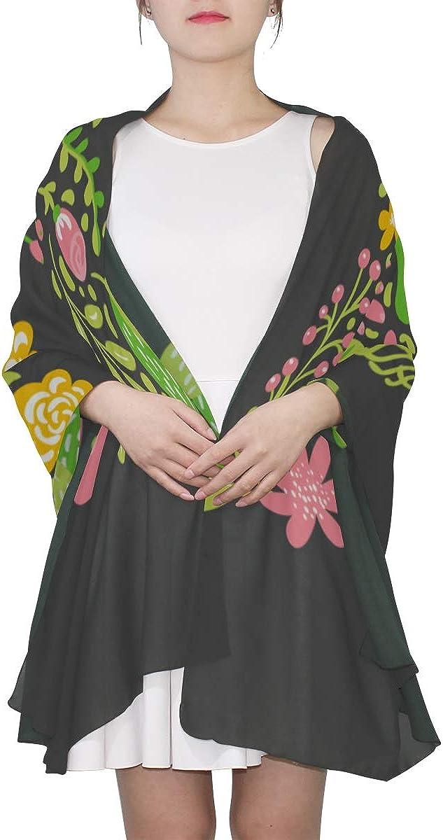 Scarf Shawl Wrap Kawaii Funny English Letter X Fashion Scarf Cheap Scarfs For Women Lightweight Print Scarves Girls Shawl Wrap Print Lightweight Scarf