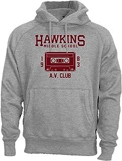 Hawkins Middle School AV Club Hoodie Sweatshirt