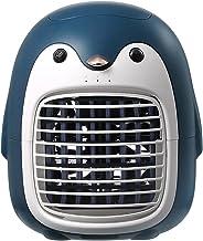 Dastrues Leuke Penguin Mini Tower ventilator, Draagbare Bureau Ventilator, Ideaal voor Desktop, Nachtkastje, Thuis of Kant...