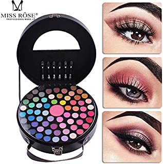 Luxury Professional Makeup 65 Colors Academy Professional Eyeshadow Palette- Ideal for Professional and Daily Use