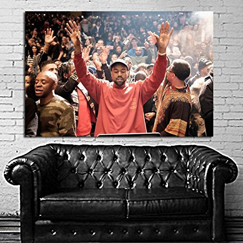 SDK mural #15 Poster Kanye West Madison Square Garden 40x58 inch (100x147 cm) Adhesive Vinyl