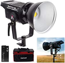 Aputure LS C120d 120D II Updated Daylight 180W LED Continuous V-Mount Video Light Kit CRI96+ TLCI97+ 30,000lux Bowens Mount Dual Power Supply 2.4G Remote Control