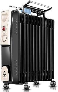HKDJ-Portátil Eléctrico Radiador De Aceite-Protección contra El Sobrecalentamiento,Ajuste De Velocidad De 3 Velocidades,Adecuado para Inviernos Fríos