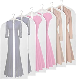 clear vinyl garment bags with pockets