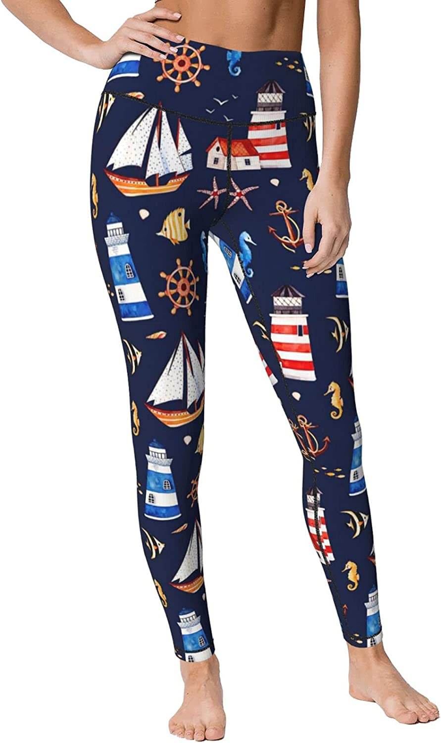 ONE TO PROMISE High Waisted Yoga Printed Pants List price Women's Opening large release sale Leggings