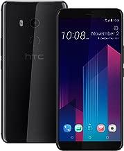HTC U11 Plus (2Q4D100) 6GB / 128GB 6.0-inches LTE Dual SIM Factory Unlocked - International Stock No Warranty (Ceramic Black)
