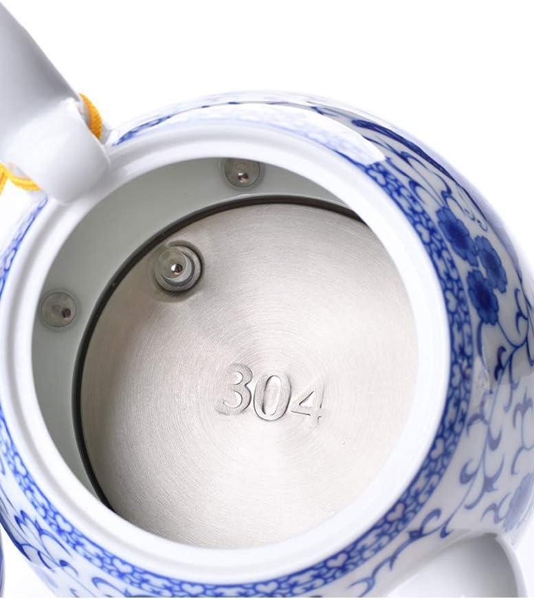 JY&WIN Bouilloire électrique 0.8LE, arrêt Automatique sans Fil, température constante Intelligente, Infusion Rapide de thé, Soupe au café, Bureau à Domicile, 1350W, D G