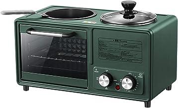 NBSXR -Combinación de Horno y microondas, Horno de Acero Inoxidable con circulación de Aire, máquina de Desayuno Multifuncional para el hogar Tres en uno, Horno Multifuncional,Verde