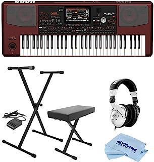Korg Pa1000 Professional Arranger Keyboard, 61 Semi-Weighted