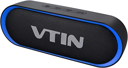 VTIN R4 Bluetooth Speaker V5.0, Portable Bluetooth...