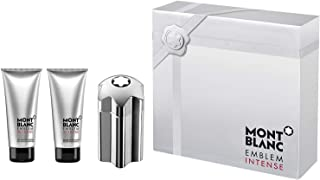 Mont Blanc Mont Blanc Emblem Intense - 100ml EDT, 100ml Shower Gel, 100ml After Shave