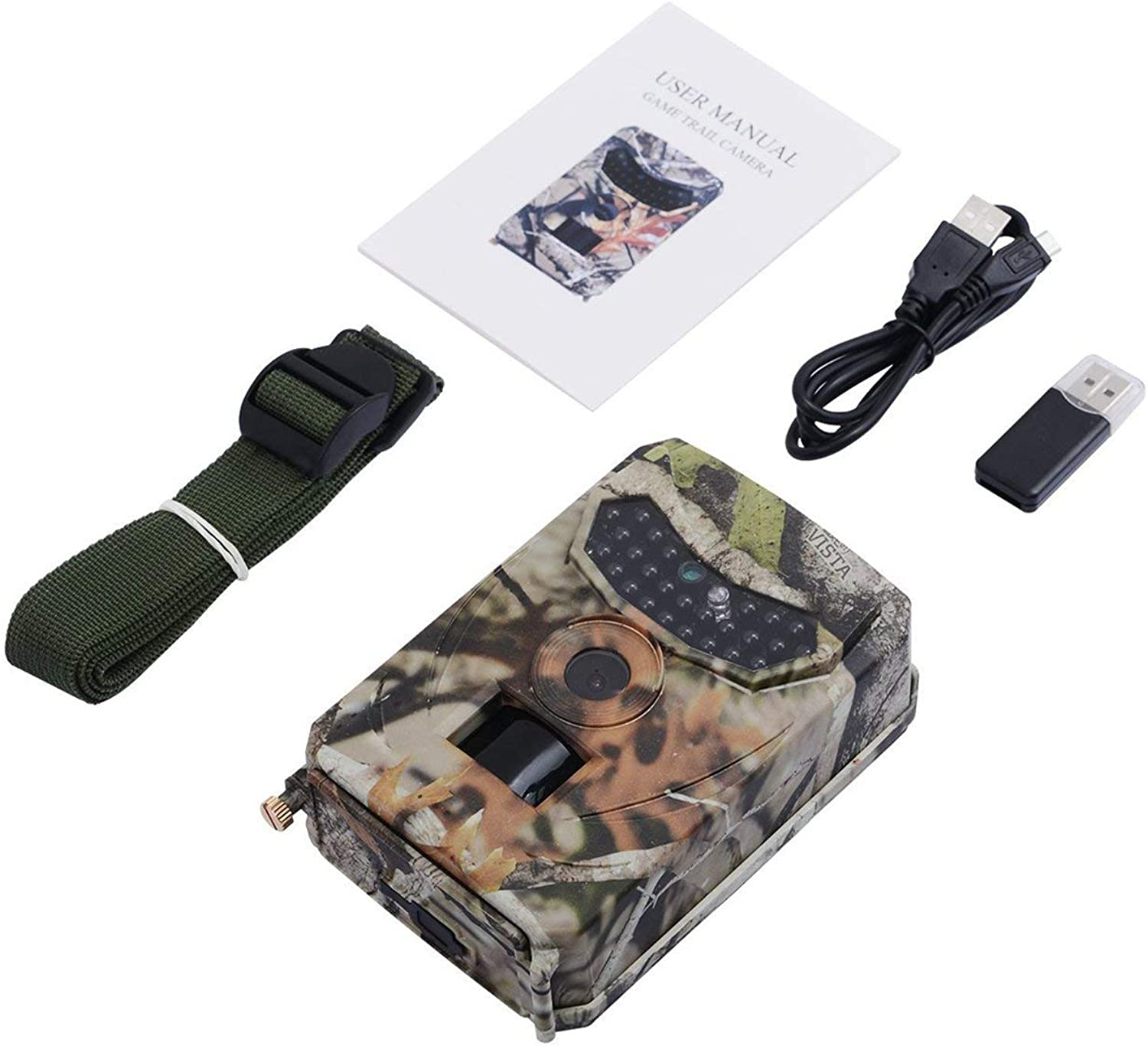 PR-100 12MP IR Night Version Wildlife Observer LED Hunting Recorder Waterproof Wild Camera Wild-Vision Surveillance Camera