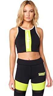 aa0d6a2e62ae8 Young and Reckless - Paisley Sports Bra- Black - - Womens - Activewear -  Tops